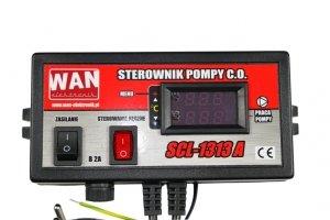 Sterownik Do Pompy C.O SCL-1313A Dwa Wyświetlacze