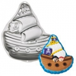 Wilton - Pirate Ship - Forma aluminiowa Statek Piracki