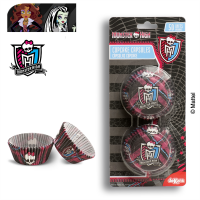 Dekora - papilotki, foremki do mufinek Monster High 50 szt.