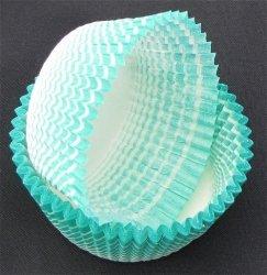 Papilotki - foremki do mufinek zielone  35 mm 2000 szt.