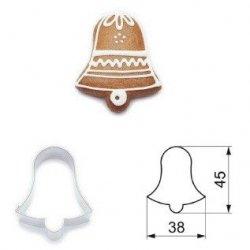 Wykrawaczka do ciastek DZWONEK  - 4,5 cm