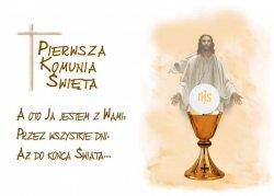 Hokus - opłatek na tort komunijny Jezus 12 szt.