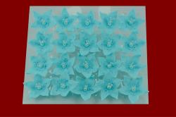 Lilijka niebieska - dekoracja cukrowa