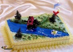 Kardasis - zestaw do dekoracji tortu Jeep