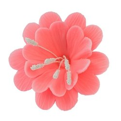 Fuksja różowa - kwiaty cukrowe - 8 szt.