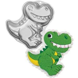Wilton - Dinosaur Pan - Forma aluminiowa Dinozaur