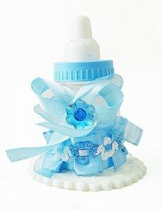 Chrzest BUTELECZKA niebieska