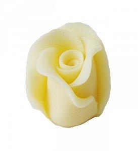 Róża duża 22 szt. ecru