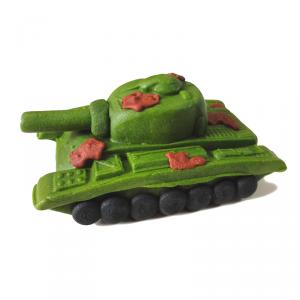 Figurka cukrowa na tort CZOŁG tank wojsko