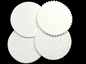 Dekoracja cukrowa na tort HOSTIA IHS - różne wzory