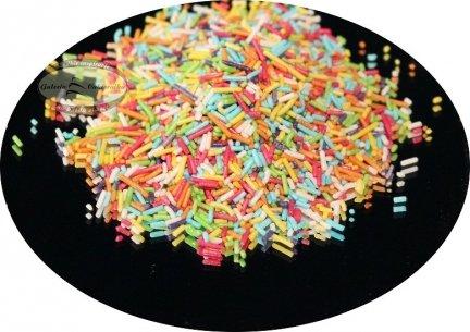 Posypka dekoracyjna makaronik kolorowy 50 g