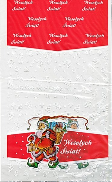 Woreczki upominkowe świąteczno-mikołajkowe S 10 szt.