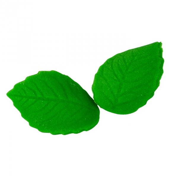 Listki cukrowe zielone średnie 300 szt.