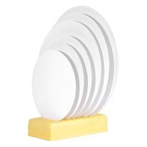Modecor - Podkład okrągły pod tort fi 24 cm biały