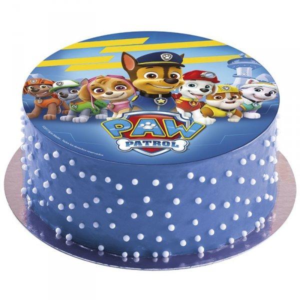 Opłatek na tort Psi Patrol C