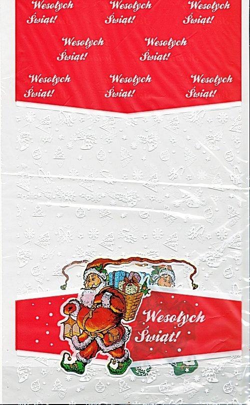 Woreczki upominkowe świąteczno-mikołajkowe S 1 szt.