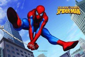 Opłatek na tort prostokątny Spider-man