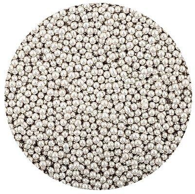 Posypka cukrowa - Włoskie Perełki Srebrne 2 mm - 50g