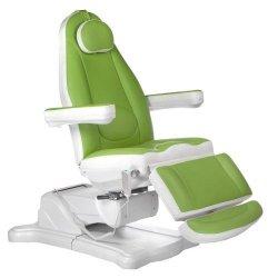 Elektryczny fotel kosmetyczny Mazaro BR-6672 Zielo BS