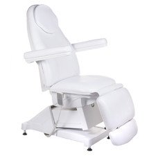 Elektryczny fotel kosmetyczny Amalfi BT-158 Biały BS