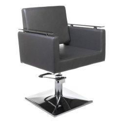 Fotel Fryzjerski Milo BH-6333 Szary