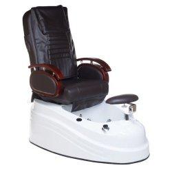 Fotel do pedicure z masażerem BR-2307 Brązowy BS