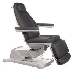 Elektryczny fotel kosmetyczny Mazaro BR-6672B Szar BS
