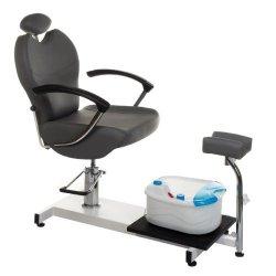 Fotel do pedicure z masażerem stóp BR-2301 Szary BS