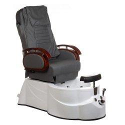 Fotel do pedicure z masażerem BR-3820D Szary BS
