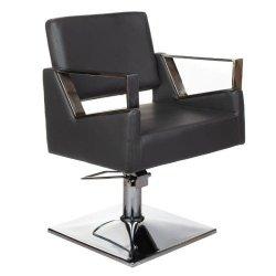 Fotel Fryzjerski Arturo BR-3936A Szary BS