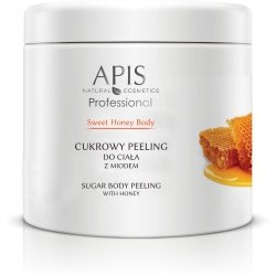 APIS - SWEET HONEY BODY - Cukrowy Peeling Do Ciała - z Miodem 700g (52935)