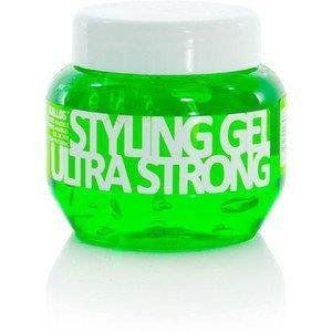 KALLOS - Żel Ultra Hold Styling Gel - zielony 275 ml