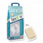 Sanicat Proessional Clean Oxygen Power 10l W 100% naturalny, chłonny żwirek zawierający aktywny tlen i zapach mydła marsylskiego