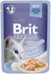 Brit Premium Cat Adult Filety z łososia w galaretce 24x85g