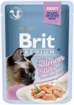 Brit Premium Cat Adult Sterilised Filety z łososia w sosie 24x85g