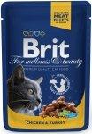 Brit Premium Cat Adult Chicken & turkey - Kurczak i indyk 100g
