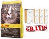 Josera Naturelle Sterilized - dla kotów po sterylizacji 2kg +12 puszek Abart z drobiem GRATIS