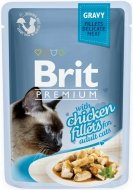 Brit Premium Cat Adult Filety z kurczaka w sosie 85g