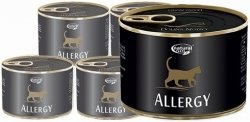 Natural Taste Cat Allergy - dla kotów z alergiami 12x185g