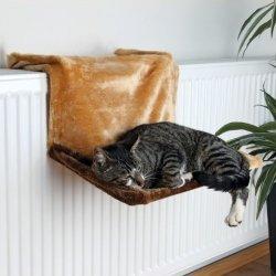 Trixie Legowisko dla kotów i małych psów - brązowe 45cm