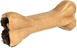 Trixie Kość prasowana nadziewana żwaczami dla psa 10cm - 2szt.