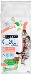 Purina Cat Chow Special Care Sensitive z łososiem 15kg