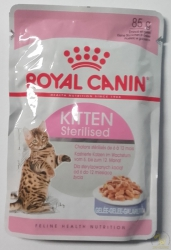Royal Canin Kitten Sterilised w galaretce 85g