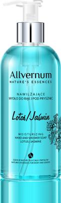 Lotos & Jasmine Moisturizing Hand and Shower Soap, Allvernum