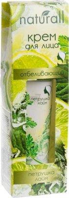 Krem do Twarzy Rozjaśniający z Pietruszką i Limonką, Seria Naturall, 40 ml