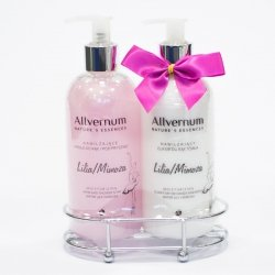Water Llily & Mimosa Liquid Hand Soap and Hand Body Lotion GIFT SET