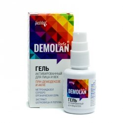 Active Face and Eyelid Gel Demolan Forte, Demodecose, Acne