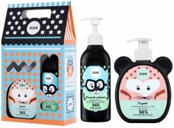 Calendula Soap & Camomile Gel Gift Set for Kids, Yope