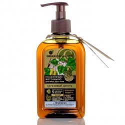 Birch Tar Moisturizing Liquid Soap, Green Collection