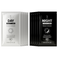 SAMPLE Toothpaste DuoLife Day & Night Beauty Care, 2x3ml